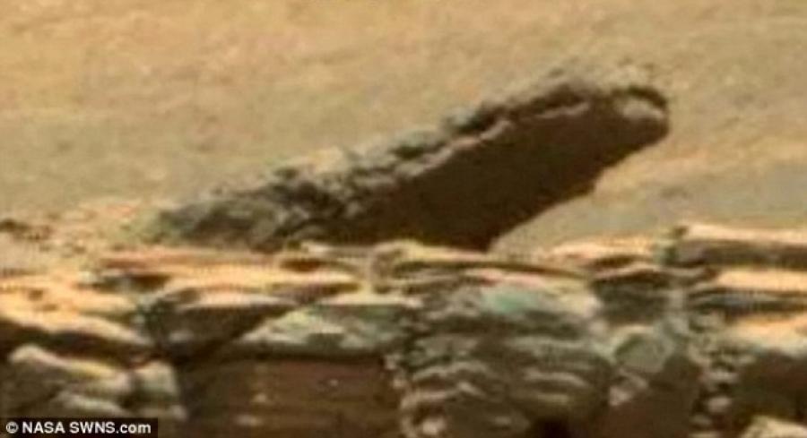 Εντοπίστηκαν ένας… κροκόδειλος και ένα… κανόνι στον πλανήτη Άρη!