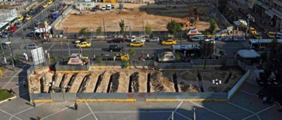 Βρέθηκαν αρχαία κατά τις εργασίες για την επέκταση του μετρό στον Πειραιά!