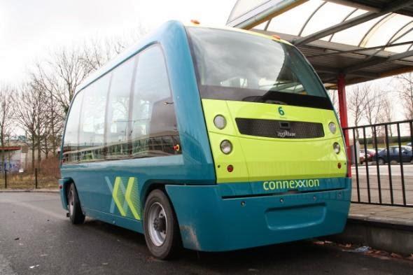 «Προ των πυλών» τα λεωφορεία χωρίς οδηγό