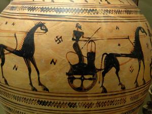 Chariot-and-Swastika-Athens-c700-BC