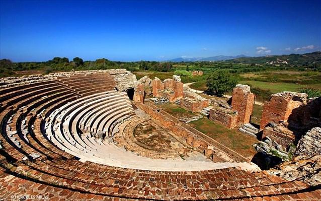 Προχωρούν οι εργασίες στο Ρωμαϊκό Ωδείο της αρχαίας Νικόπολης
