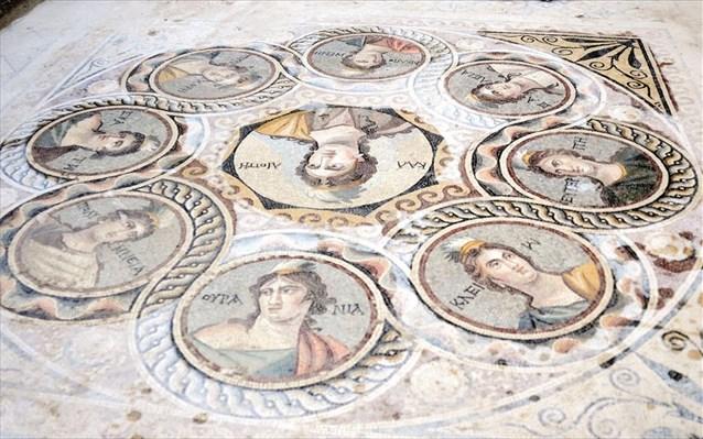 Στο φως μοναδικά ψηφιδωτά στην αρχαία ελληνιστική πόλη Ζεύγμα