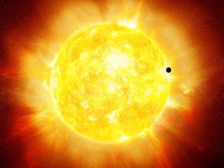 Σπάνια διάβαση σήμερα του Ερμή μπροστά από τον Ηλιο