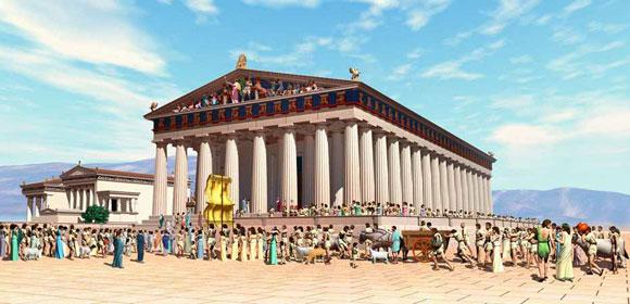 Parthenon visualization