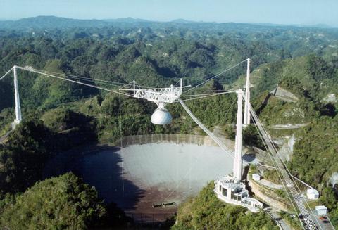 Λίγα τηλεσκόπια στον κόσμο - ίσως κανένα- είναι τόσο γνωστά όσο το γιγάντιο αμερικανικό ραδιοτηλεσκόπιο Αρεσίμπο στο Πουέρτο Ρίκο, με το τεράστιο «πιάτο» που έχει διάμετρο 305 μέτρα.