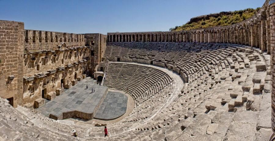 Εσείς γνωρίζετε το αρχαίο θέατρο της Ασπένδου;