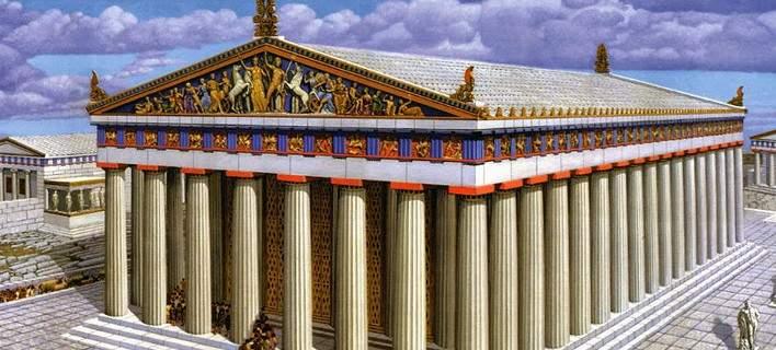 Διθύραμβοι BBC για την αρχαία ελληνική τέχνη: Οταν ο Παρθενώνας είχε εκθαμβωτικά χρώματα