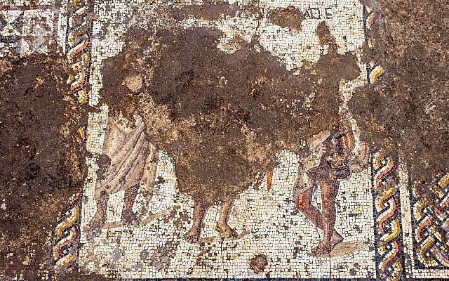 Ισραηλινοί αρχαιολόγοι ανακάλυψαν μωσαϊκό 1.800 ετών