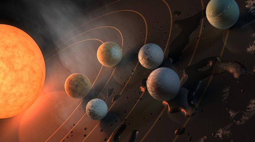 Αναφέρεται σε πλανητικό σύστημα που απέχει 40 έτη φωτός από τη Γη - «Πρόκειται για το ιερό δισκοπότηρο των ανακαλύψεων», δηλώνουν οι επιστήμονες - Βραχώδεις πλανήτες με νερό και ήπιες επιφανειακές θερμοκρασίες