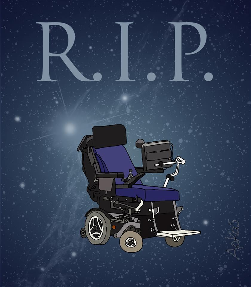 Ο Αρκάς μέσω του facebook έδωσε το καλύτερο αποχαιρετισμό για τον μεγάλο επιστήμονα Steven Hockings
