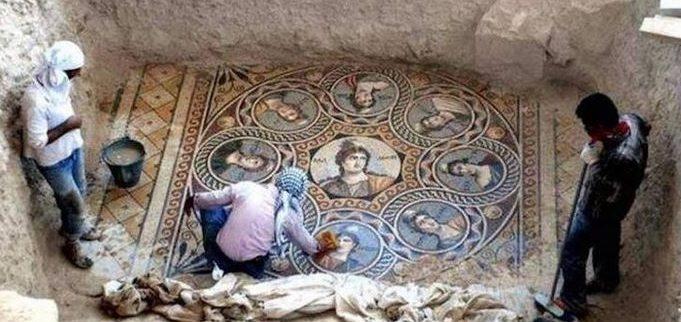 Τα ασύλληπτης ομορφιάς ψηφιδωτά που ανακαλύφθηκαν στην αρχαία ελληνική πόλη Ζεύγμα στην  νότια Τουρκία
