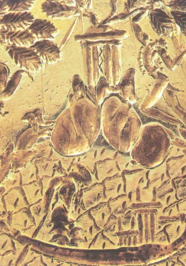Η λεπτομέρεια που περιέγραψε ο ερευνητής στο λεγόμενο Δαχτυλίδι του Μίνωα.