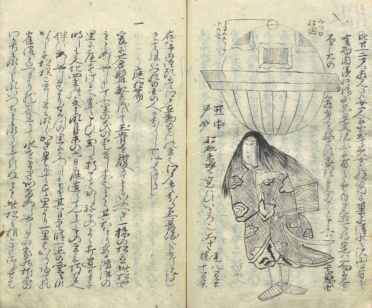 Από το Ōshuku zakki (Ōshuku Notes; περίπου το 1815) από τον Komai Norimura, υποτελή του ισχυρού daimyō Matsudaira Sadanobu. (Ευγενική προσφορά Εθνική Βιβλιοθήκη Διατροφής)